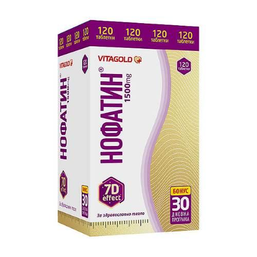 NOFATIN x120 tabs + Comprehensive Program Nofatin