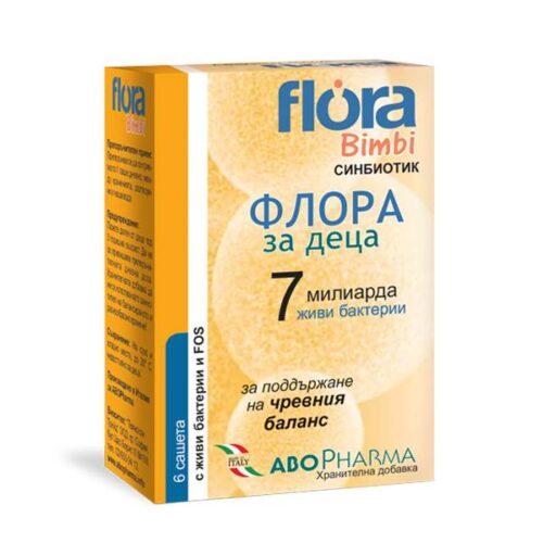 Flora Bimbi for children x6 sachets