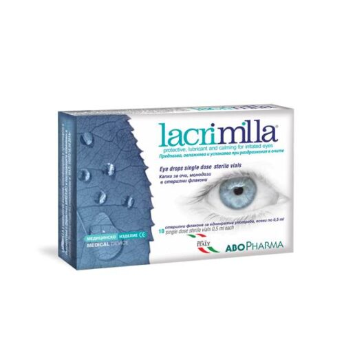 Lacrimila eye drops x10