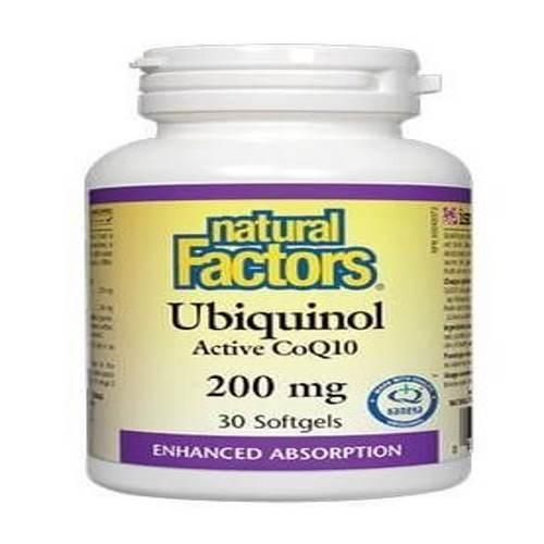 Ubiquinol Active CoQ10 200 mg x 30caps