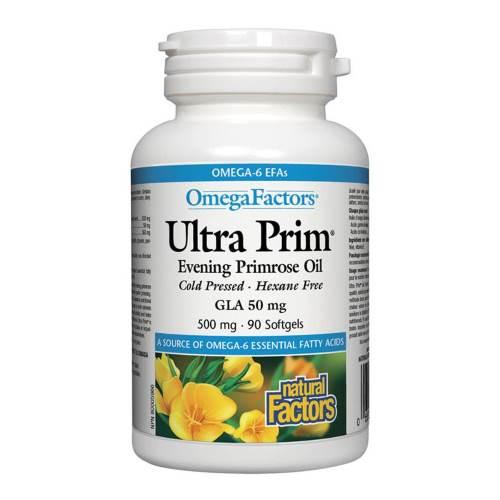 Ultra Prim Evening Primrose Oil GLA 500 mg х90caps