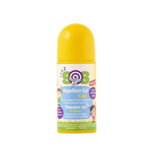 Repellent gel for children Protection against mosquitoes x100ml