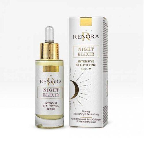 Night face serum Renora Night Elixir x30ml
