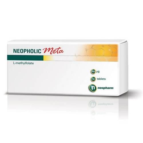 Neofolic Meta 0.4mg x90 tablets