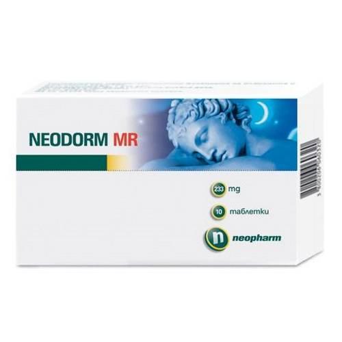 Neodorm MR 233mg x10 tablets