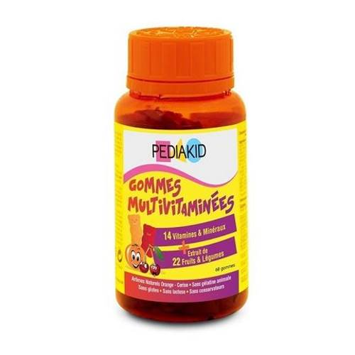 Multivitamins Chewing Bears x60 pieces