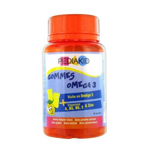 Omega 3 Chewing Bears For Children x60 pcs