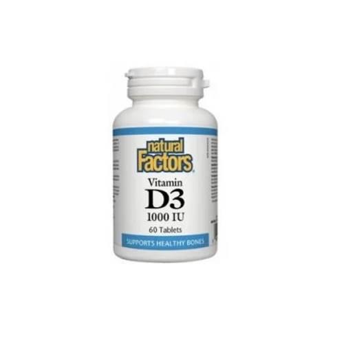 Vitamin D3 1000 IU x60 tablets