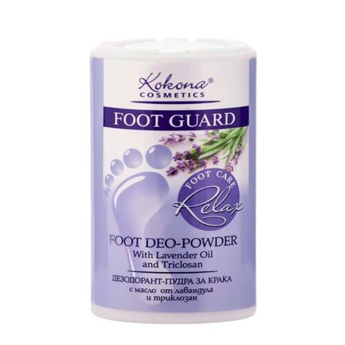 Relaxing foot powder x50g