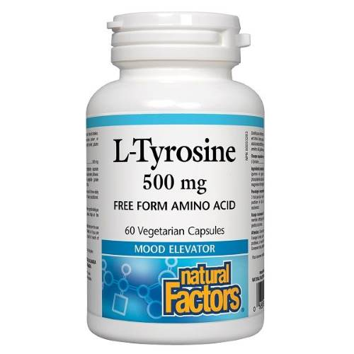 L-Tyrosine 500 mg х 60caps