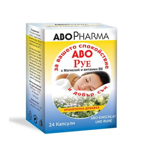 ABO - RUE - x24 capsules for calm and good sleep