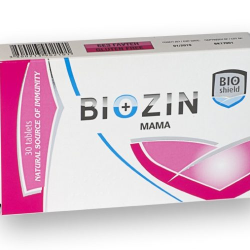 Biozin Mama / Mom in pregnancy and breastfeeding 30 tablets