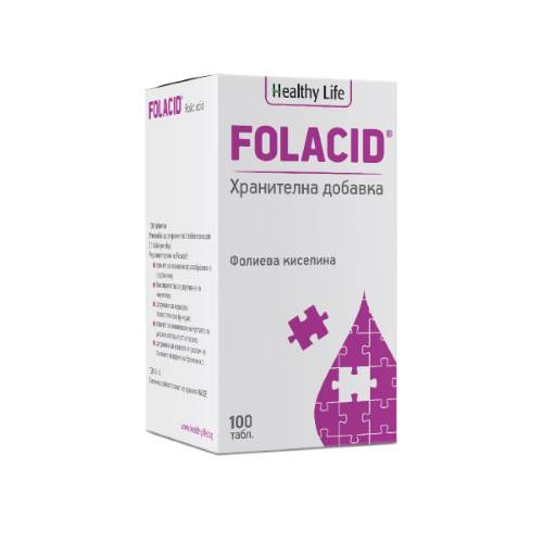 Unicoms - Folacid 100 Nutritional Supplement x100tabs