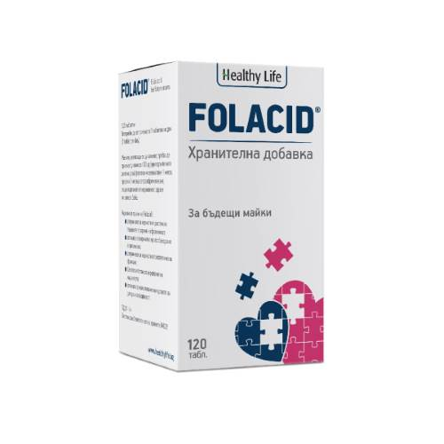 Folacid 120 Nutritional Supplement x120tabs