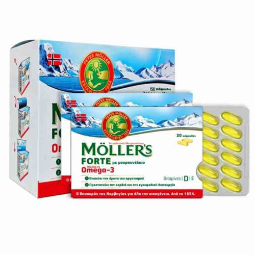 Moller's - FORTE OMEGA 3 From Cod Liver x150 capsules