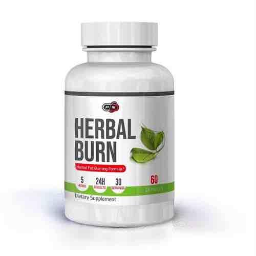 Herbal Burn Natural Lipotropic Fat Burner