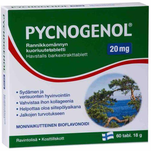 Pycnogenol 20 mg 60 tabs