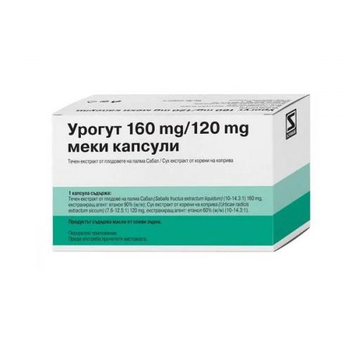 Urogut for normal functioning of the prostate x60 capsules