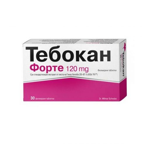 Tebokan Forte for memory and concentration 120mg x30