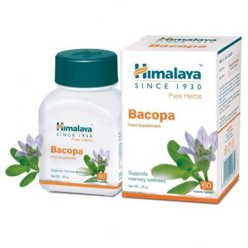 Bacopa Supports the brain and nervous system x60caps