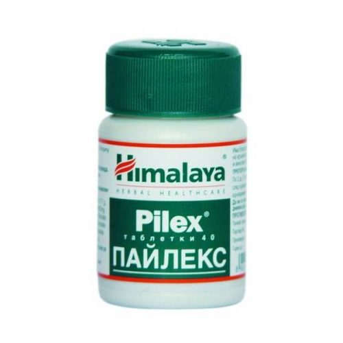 Pilex tablets for normal functioning of blood vessels x40tabs