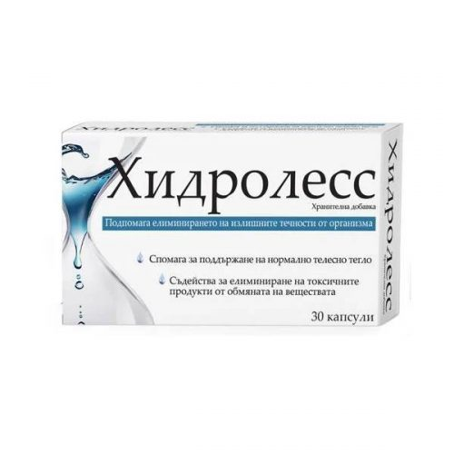 Hydroless for fluid retention x30 capsules