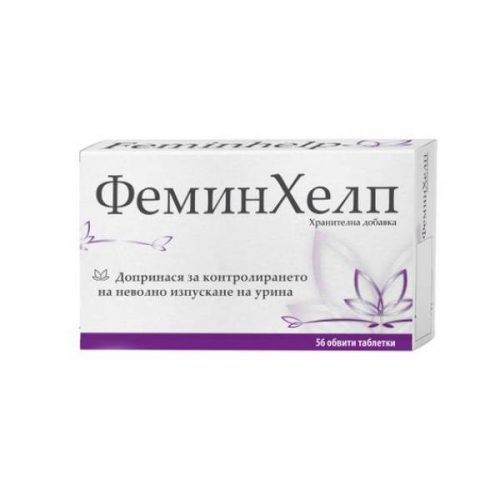 Feminhelp for incontinence x56 tablets
