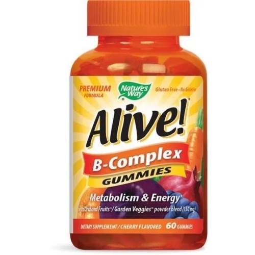 Alive B-Complex x60 jelly tablets