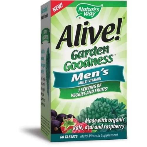 Alive Garden Goodness Multivitamins For Men x60 tabs