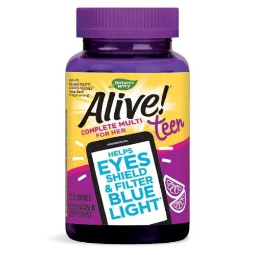 Alive Teen Multivitamins for Girls x50 jelly tablets