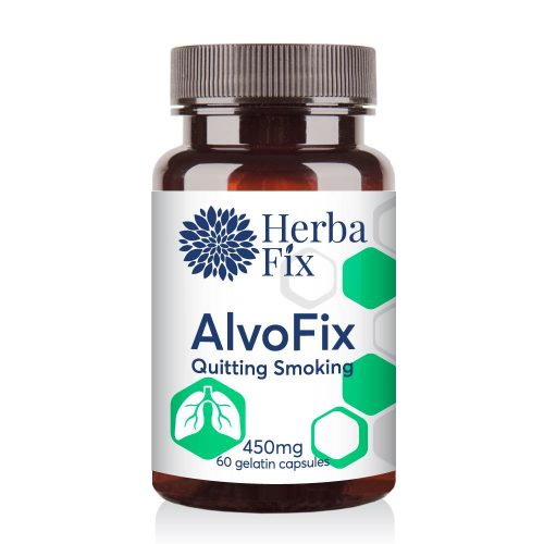 Alvofix - helps stop smoking without stress 60 capsules