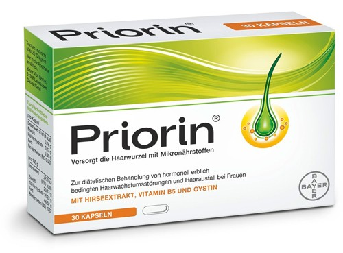 BAYER PRIORIN CAPSULES
