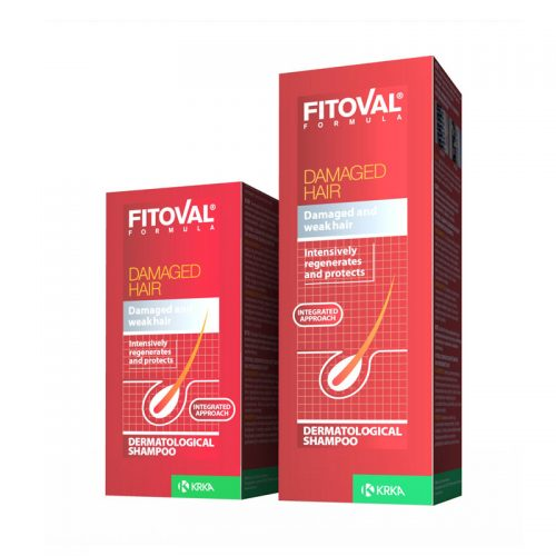 Fitoval Shampoo For Damaget Hair 100 ml