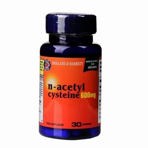 N-Acetyl Cysteine NAC x30 x600 mg