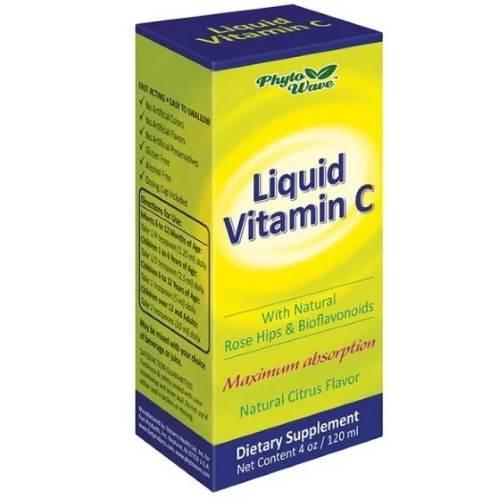 Liquid Vitamin C With Natural Citrus Aroma x120 ml
