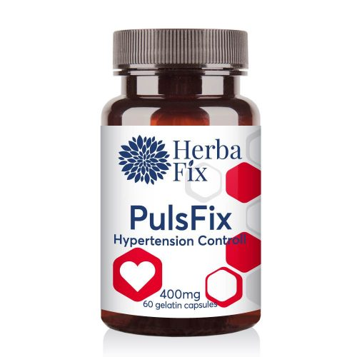 Pulsfix - In hypertension and arrhythmia 60 capsules