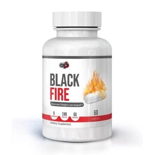 Black Fire Thermogenic Fat Burner x60caps