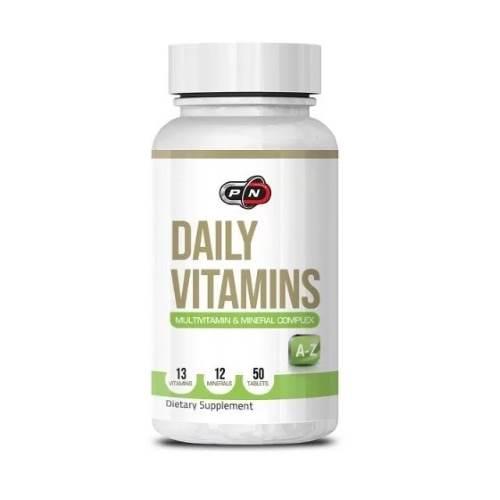 Daily Vitamins Multivitamins x50 tabs