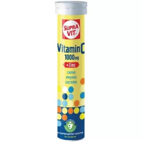 SUPRAVIT Vitamin C + Zinc x20 Soluble Tablets