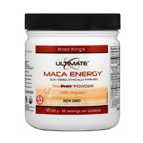 Ultimate Maca Energy Organic 150g powder x50doses